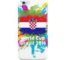 World Cup Brazil 2014 - Croatia iPhone Case/Skin