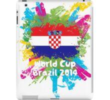 World Cup Brazil 2014 - Croatia iPad Case/Skin