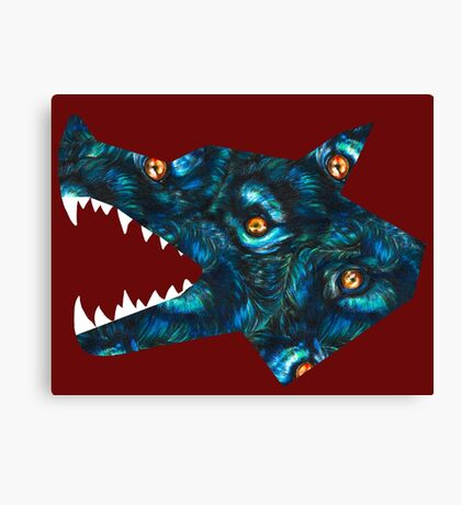 Fur Filled Canvas Print