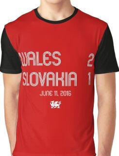 Wales - Slovakia Graphic T-Shirt