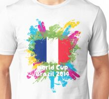 World Cup Brazil 2014 - France Unisex T-Shirt