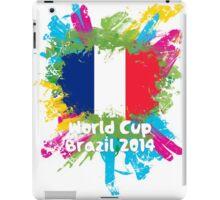 World Cup Brazil 2014 - France iPad Case/Skin