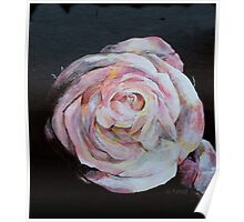 Beautiful Rose Painting Poster