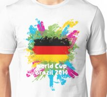 World Cup Brazil 2014 - Germany Unisex T-Shirt