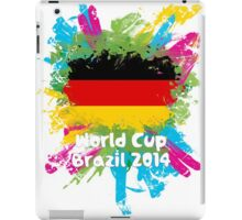 World Cup Brazil 2014 - Germany iPad Case/Skin