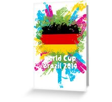 World Cup Brazil 2014 - Germany Greeting Card