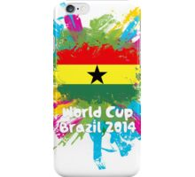 World Cup Brazil 2014 - Ghana iPhone Case/Skin