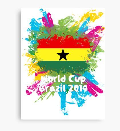 World Cup Brazil 2014 - Ghana Canvas Print