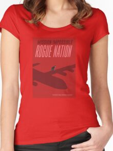 Mission Impossible Rogue Nation Women's Fitted Scoop T-Shirt