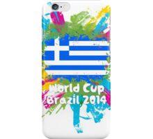 World Cup Brazil 2014 - Greece iPhone Case/Skin