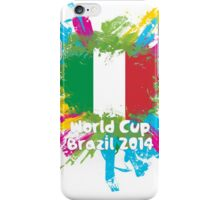 World Cup Brazil 2014 - Italy iPhone Case/Skin