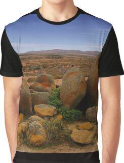 Desert Landscape Graphic T-Shirt