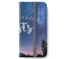 The Universe is Full of Ghosts iPhone Wallet/Case/Skin