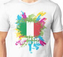 World Cup Brazil 2014 - Italy Unisex T-Shirt