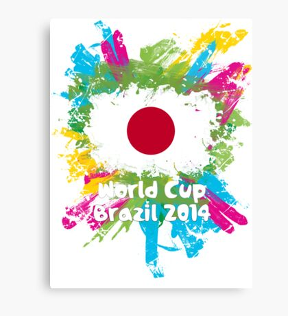 World Cup Brazil 2014 - Japan Canvas Print