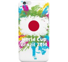 World Cup Brazil 2014 - Japan iPhone Case/Skin