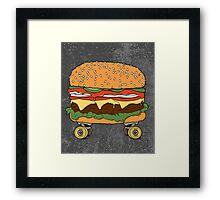 Nose + Cheese + Tail. Framed Print