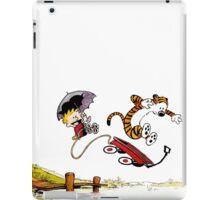 Calvin And Hobbes Jumping iPad Case/Skin