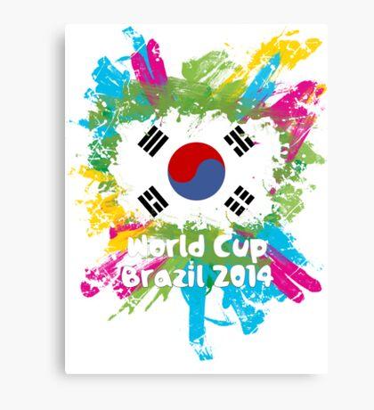 World Cup Brazil 2014 - Korea Republic Canvas Print