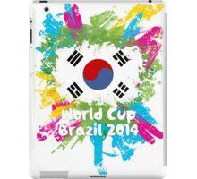 World Cup Brazil 2014 - Korea Republic iPad Case/Skin