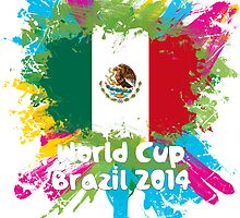 World Cup Brazil 2014 - Mexico by matys103