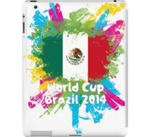 World Cup Brazil 2014 - Mexico iPad Case/Skin
