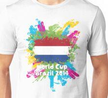 World Cup Brazil 2014 - Netherlands Unisex T-Shirt
