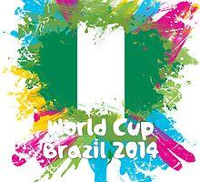 World Cup Brazil 2014 - Nigeria by matys103