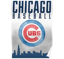 Chicago Baseball Poster