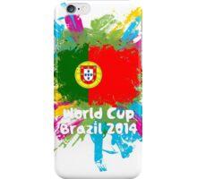 World Cup Brazil 2014 - Portugal iPhone Case/Skin