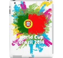 World Cup Brazil 2014 - Portugal iPad Case/Skin