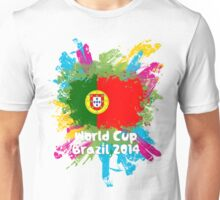 World Cup Brazil 2014 - Portugal Unisex T-Shirt