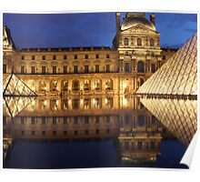 Louvre Reflections Poster