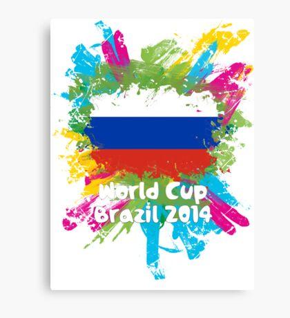 World Cup Brazil 2014 - Russia Canvas Print
