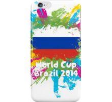 World Cup Brazil 2014 - Russia iPhone Case/Skin