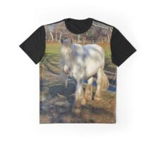 Equus Ferus Caballus - White Horse | East Hampton, New York Graphic T-Shirt