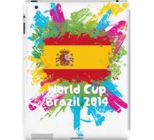 World Cup Brazil 2014 - Spain iPad Case/Skin