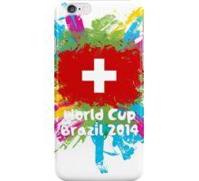 World Cup Brazil 2014 - Switzerland iPhone Case/Skin