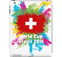 World Cup Brazil 2014 - Switzerland iPad Case/Skin