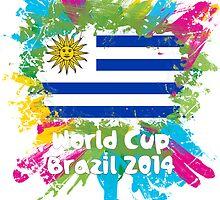 World Cup Brazil 2014 - Uruguay by matys103