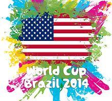 World Cup Brazil 2014 - USA by matys103