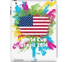World Cup Brazil 2014 - USA iPad Case/Skin