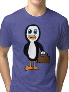 Is This Your Purse Penguin Tri-blend T-Shirt