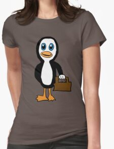 Is This Your Purse Penguin Womens Fitted T-Shirt
