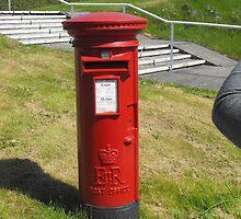 Red Postbox Mailbox by Jollyrobin