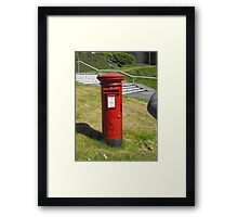 Red Postbox Mailbox Framed Print