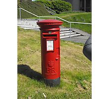 Red Postbox Mailbox Photographic Print