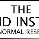 The Strand Institute Sticker by Gina Mieczkowski