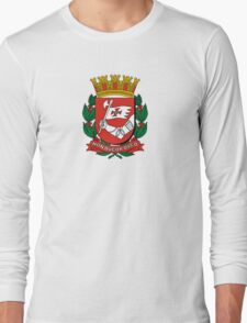 Coat of Arms of São Paulo Long Sleeve T-Shirt