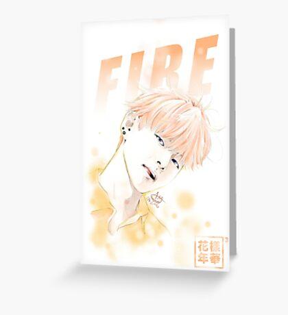 V- FIRE Greeting Card